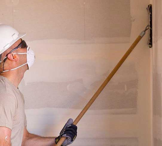 Drywall repair Racine WI